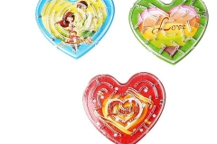 В каждом подарке на 650гр - головоломка Сердечки