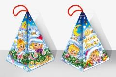 Рождественская пирамидка